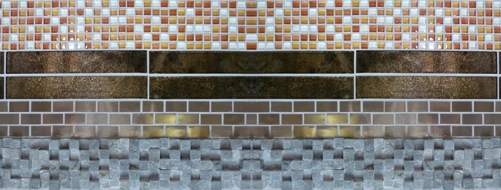 gold tile H